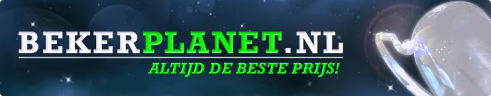 Het oude logo van Bekerplanet